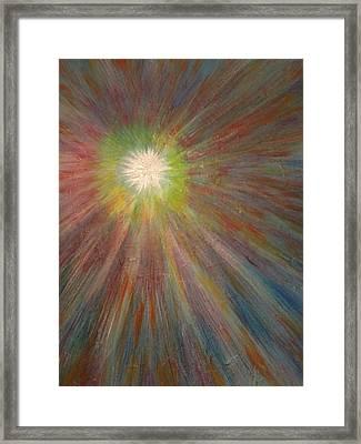 Starburst Framed Print by Herb Duncan