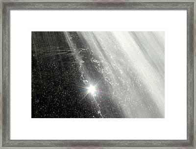 Starburst Framed Print by J Allen