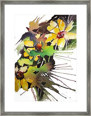 Starburst Framed Print by Rae Andrews