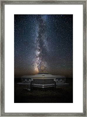 Stardust And Rust  Riviera Framed Print