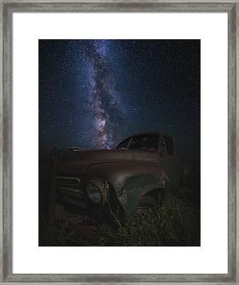 Stardust And Rust  Studebaker Framed Print
