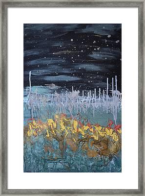 Stardust Framed Print by Donna Blackhall