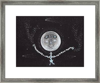 Stardust Moon Framed Print by Jim Taylor