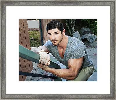 Stare Master Framed Print by William Dey