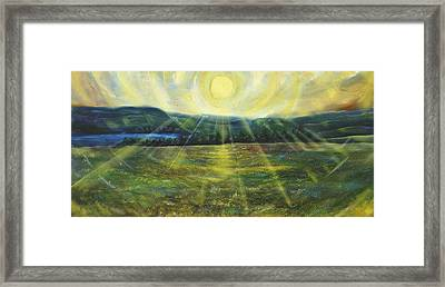 Star Field In Midsummer Framed Print
