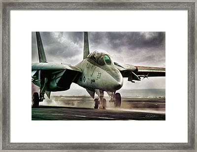 Starfighter Launch Framed Print