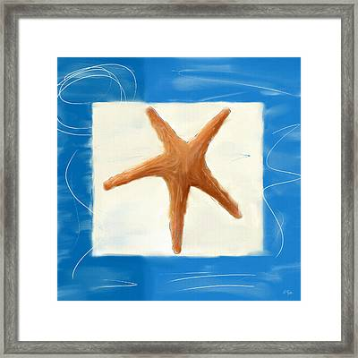Starfish Galore Framed Print