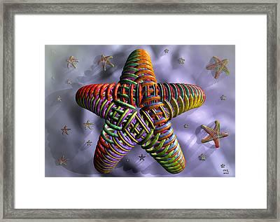 Starfish Framed Print by Manny Lorenzo