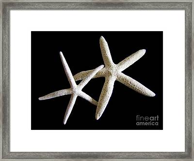 Starfish Tango Framed Print by Mary Deal