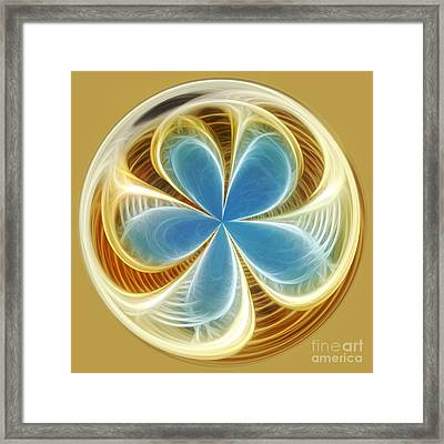 Starfish To Flower - Orb 2 Framed Print