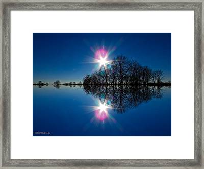 Starflection Framed Print