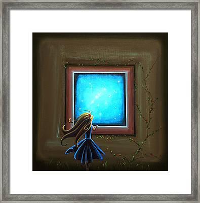 Stargazer Framed Print by Cindy Thornton