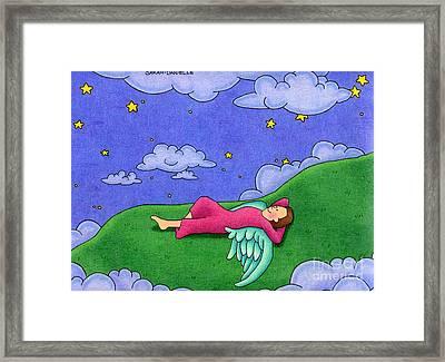 Stargazer Framed Print by Sarah Batalka