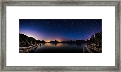Stargazing Framed Print