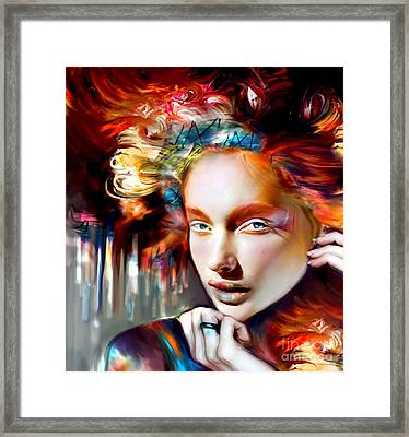 Stargirl I Bleed Color Framed Print