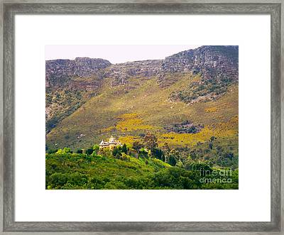 Stark Conde Wine Estate Stellenbosch South Africa 2 Framed Print by Charl Bruwer