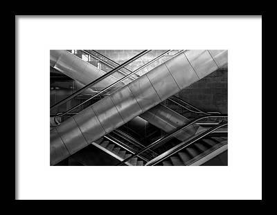 Elevators Framed Prints