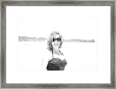 Starlet Framed Print by Sophie Vigneault