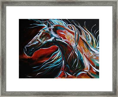 Starlight Run Framed Print