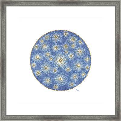 Starlit Sky Framed Print by Vanda Omejc