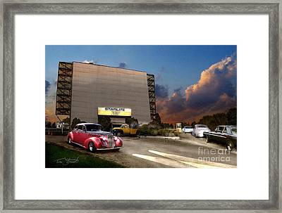 Starlite Framed Print by Tom Straub