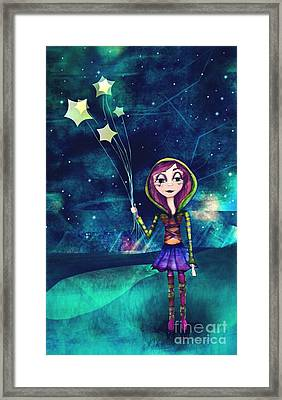 Starloons Framed Print by Kristin Hodges