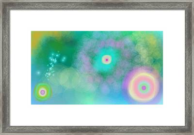 Starnest Framed Print by Rosana Ortiz