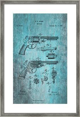 Starr Revolver Framed Print by Georgia Fowler