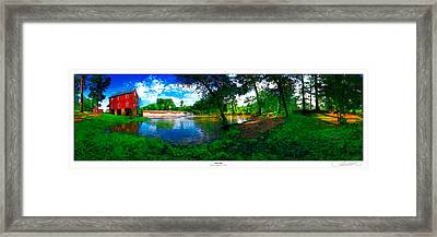 Starrs Mill 360 Panorama Framed Print