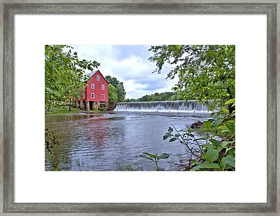 Starrs Mill Framed Print by Gordon Elwell