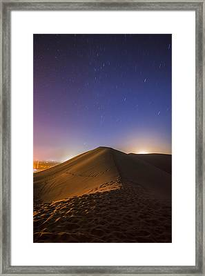Starry Love Affair Framed Print by Aaron Bedell