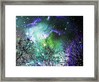 Starry Night Framed Print by Anastasiya Malakhova