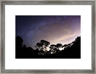Starry Nights Framed Print by Emilio Lopez