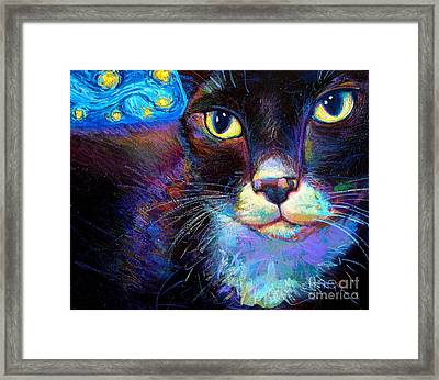Starry Night Jack Framed Print by Robert Phelps
