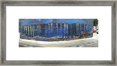 Starry Night Over Macpherson Framed Print by Belinda Low