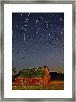 Starry Night Framed Print by Susan Candelario