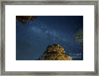 Framed Print featuring the photograph Starry Skies by Martin Konopacki