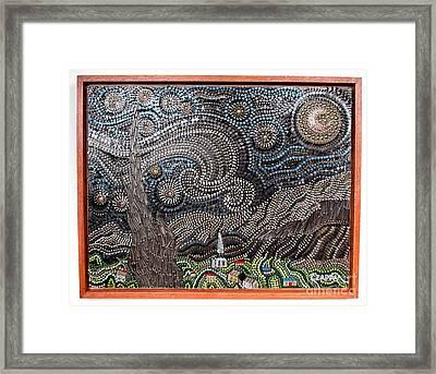 Starry Starry Night 2  #133 Framed Print by Bill Czappa