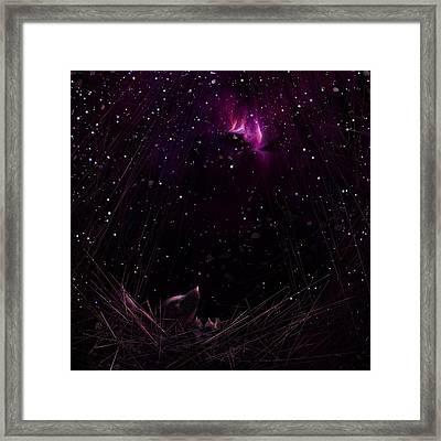 Starry Starry Night Framed Print by Rachel Christine Nowicki