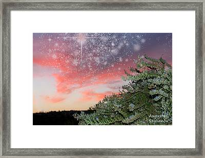 Starry Sunset Framed Print