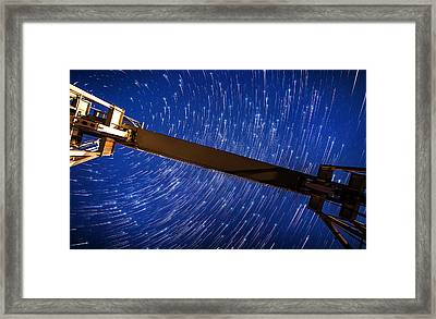 Stars Above Framed Print by Alexis Birkill