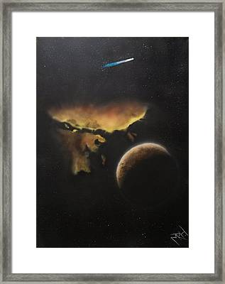 Stars Are What Dream Are Made Of Framed Print by Michael Hall