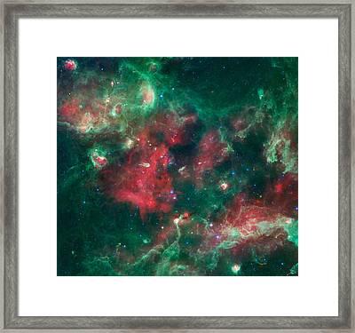 Stars Brewing In Cygnus X Framed Print