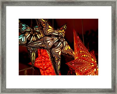 Stars By Night Framed Print