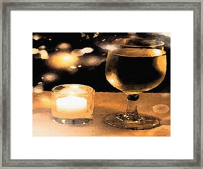 Stars In The Sky Framed Print by Dennis Buckman