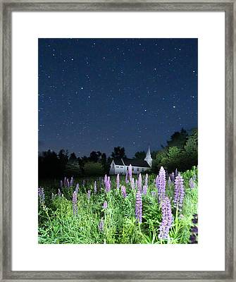 Stars Of St Mathews Framed Print by Andrea Galiffi