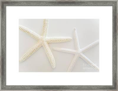 Stars Of The Sea Framed Print by Julia Hiebaum