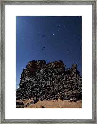 Stars Of The Ursa Major And Ursa Minor Framed Print by Babak Tafreshi