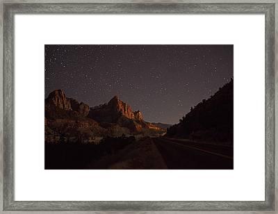 Stars Of Zion Framed Print