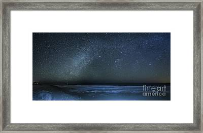 Stars Over Cape San Blas Framed Print by Twenty Two North Photography